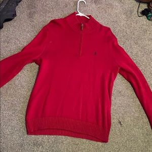 Polo Sweater with 3/4 Zip